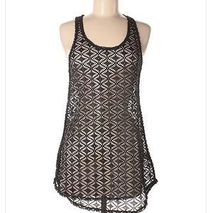 NWT Miken swimsuit lace coverup.